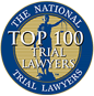 Top 100 Trial Lawyers Of America Badge