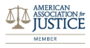 American Assciation Of Justice Badge