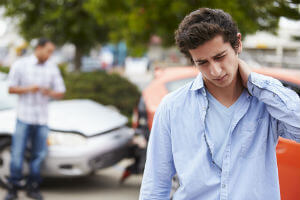 car accident neck injury