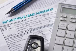 documents for motor vehicle lease