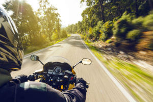 motorcycle accidents road hazards