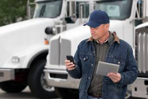truck driver checking devices