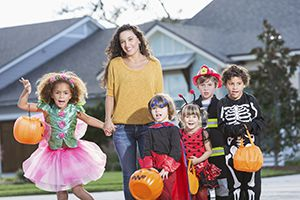 Halloween Saftey for Trick-or-Treaters